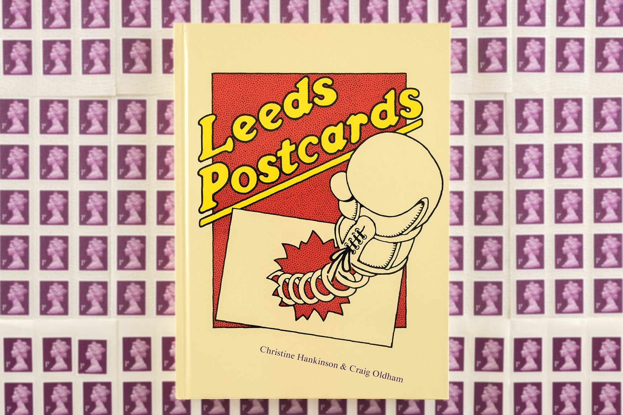 Leeds Postcards Cover Stamps3