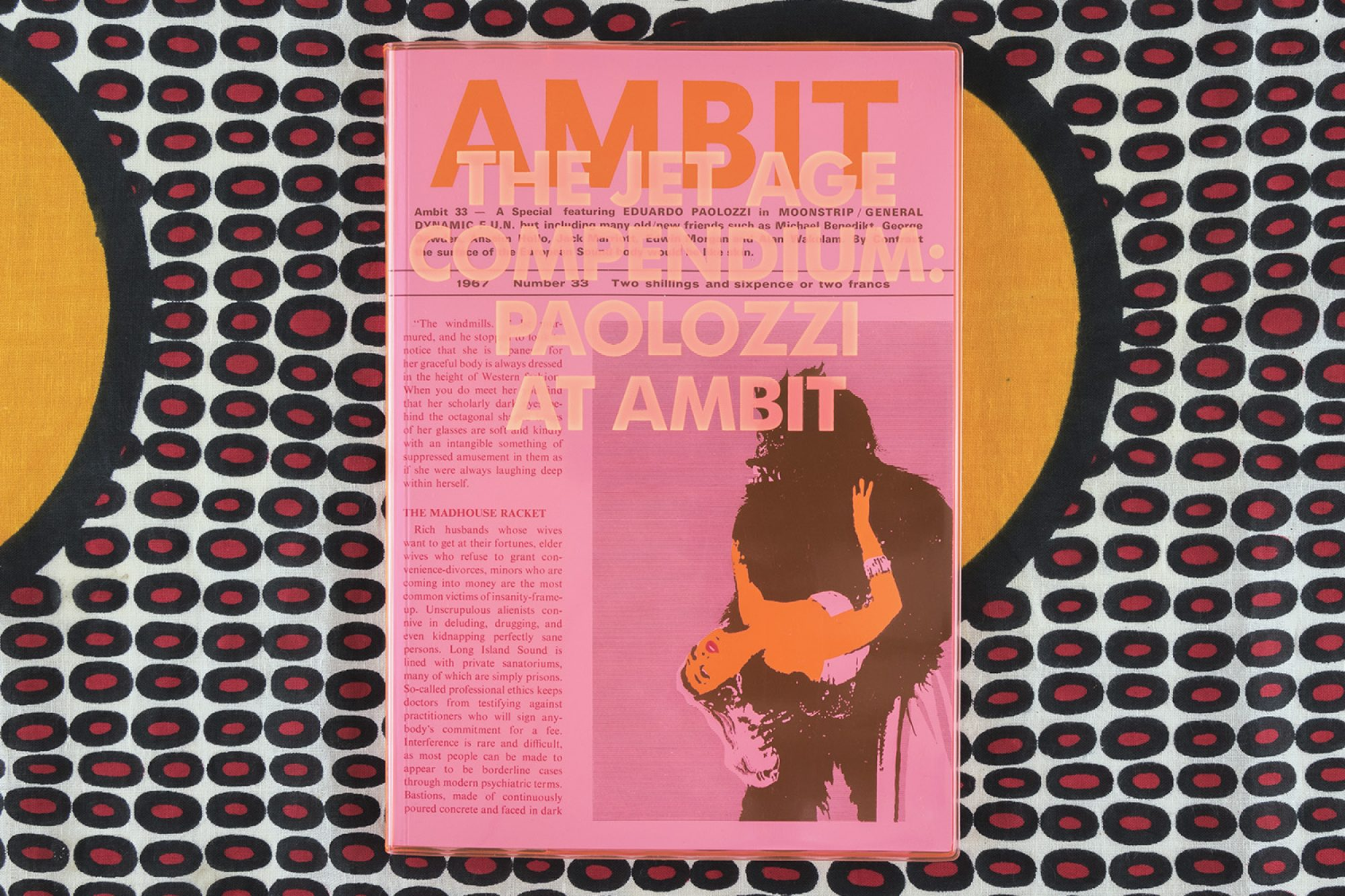 Paolozzi At Ambit Front Cover